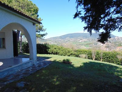 Photo for N111 - Numana, single villa with garden and sea view