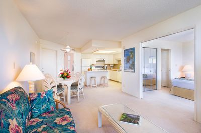 Aston at the Maui Banyan 2BR Living Room Overview