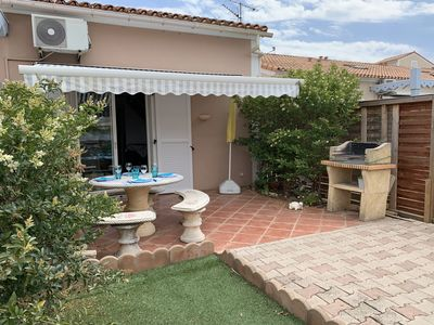 Photo for Palavas house 4pers, secure res, wifi, swimming pool