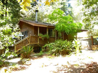 Here is our redwood cabin getaway in Gualala...your home away from home