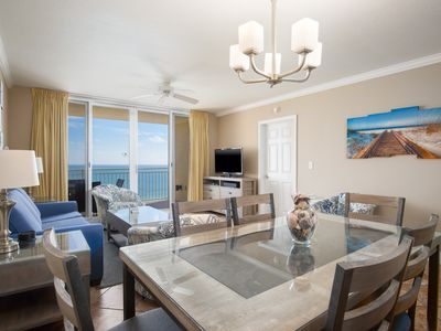 Photo for NEWLY FURNISHED Condo with GULF VIEWS! 2 bedrooms + Bunks - Perfect Family