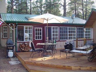 Photo for Pine Cone Ranch Cabin in the Tall Pines