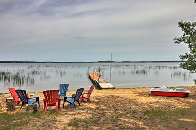 Endless days on the Lake Sand water await at this vacation rental in Deer River!