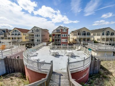 Photo for Fancy That | Oceanfront | Dog Friendly, Private Pool, Hot Tub