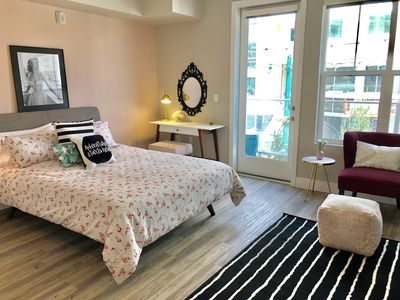 """Photo for """"The Sophia"""" Studio Apt with Piazza View *Little Italy*Downtown"""