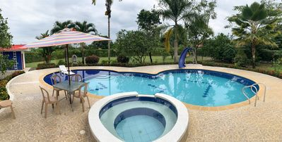Photo for FINCA EL PROVENIR, swimming pool, jacuzzy, basketball, ping pong, yew