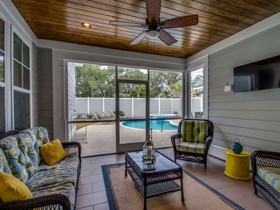 Photo for Summer Special Rates! Luxury Home with Private Pool & Hot Tub in North Beach Plantation
