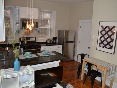 Photo for Best Boston location, North End, Little Italy, lovely and welcoming 2 BR apt