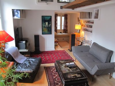 Photo for Typical Parisian Loft In Bastille