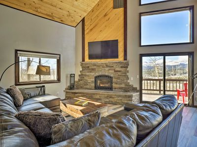 Photo for Large Fairplay Cabin w/Incredible Views near Breck