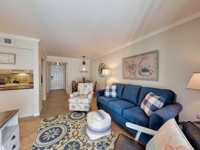 Photo for Steps away from the Beach!! Newly renovated Shipwatch Condo