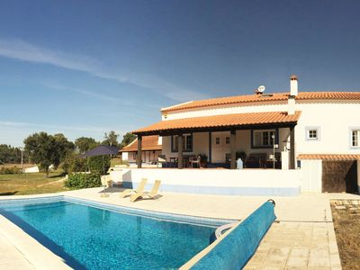 Photo for This 3-bedroom villa for up to 6 guests is located in Lisbon Coast and has a private swimming pool,