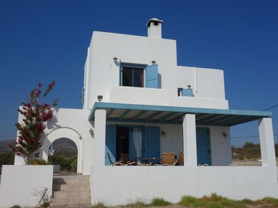 Photo for Villa Ilios with outside-pool, relaxing- and BBQ-area - nearby the sea