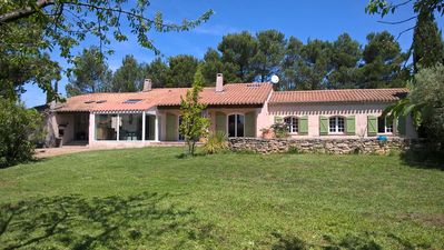 Photo for Charming house located in a pine forest at the foot of the city of Carcassonne