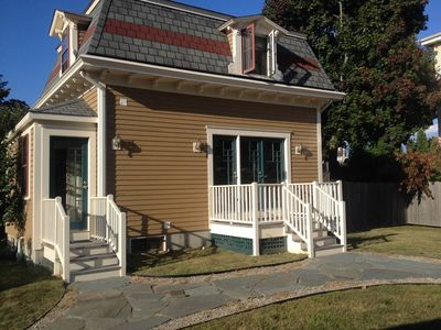 Photo for Antique In-town Village Cottage - 5 BDRM, Jamestown, RI