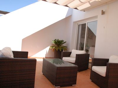 Photo for Three bedroom luxury ground floor apartment golf Condado de Alhama, Murcia.