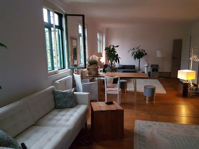 Photo for Lofty apartment in the old town