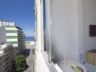 Photo for Next to the Hilton Hotel, Sea View, Copacabana Beach # 034