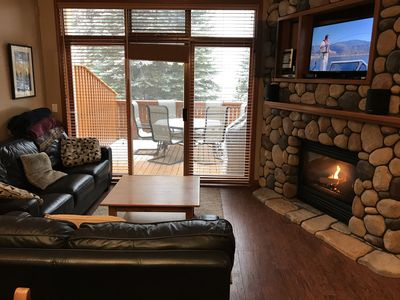Photo for Ski in / Ski Out - Hot Tub, View, Den & Garage