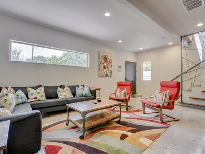 Photo for A Modern East Austin Gem - Walk to Downtown and Rainey Street!