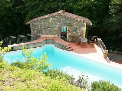 "Photo for Small but beautiful, this delightful ""nest"" with pool in the Tuscan hills"