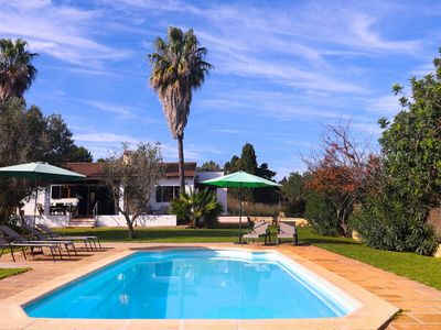 Photo for Villa Son Servera with Mountain View, Wi-Fi, Garden, Terraces & Pool: Parking Available, Pets Allowed