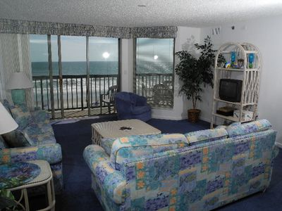 Photo for Emerald Cove I Unit: 4A! Oceanfront 4 Bedroom! Escape to the beach with the best rates!