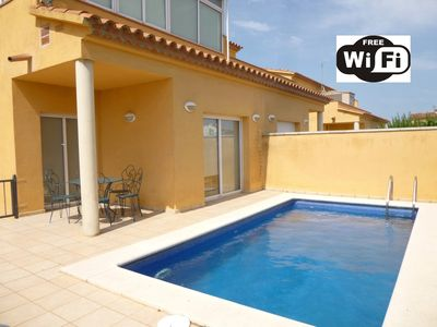 Photo for Apart-Rent- House with private pool and wifi ( 0144)