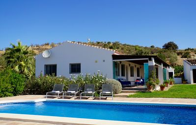 Photo for Charming cottage with private swimming pool and views over Andalusian hills