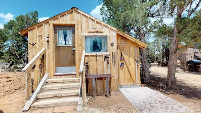 Photo for Harvest Moon Glamping Cabin, Western Styled and Secluded.