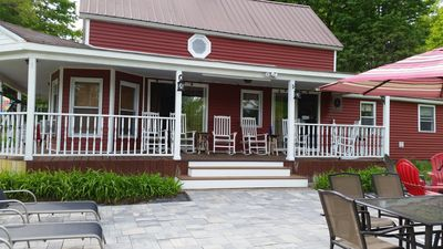 Photo for Pet Friendly, In quaint Bolton Landing, new patio and updated wrap-around porch