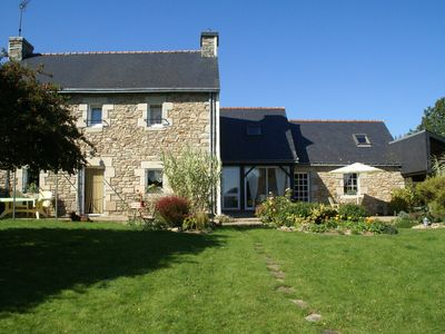 Photo for Idyllic Holiday Home in Querrien with Pond