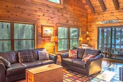 Sunset Haven, Private Waterfront Custom Log Home On Moosehead Lake -  Greenville