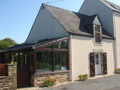 Photo for 3 *** - Pont-Aven (south finistère) 2 bedrooms including a ground floor near GR34 + wif