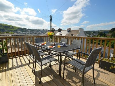 Photo for Peaceful Holiday Home in Kingswear Devon with Dart View