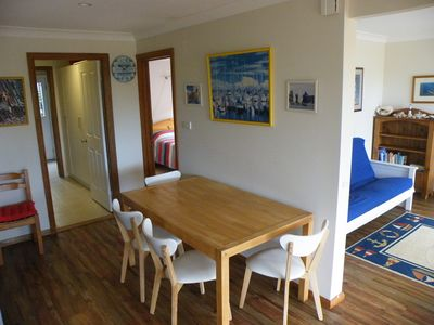 Photo for Beautiful Light and Airy Apartment only 350 metres to Nelson Beach