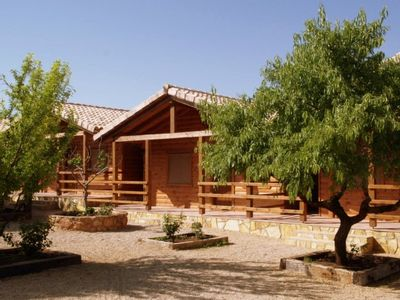 Photo for Wooden houses Los Molinos for 2 people