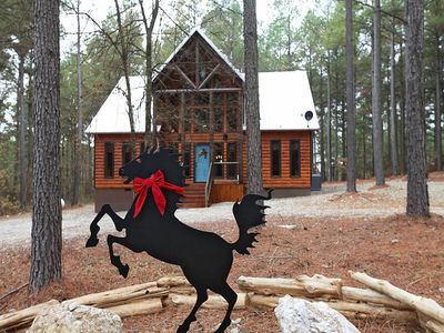 Photo for Two bedroom loft sleeps 6 stunning two-story luxury cabin timber creek south – no pets allowed