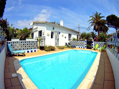 Photo for Villa Can Dani, less than 500m from the beach, Terrace, private pool, barbecue