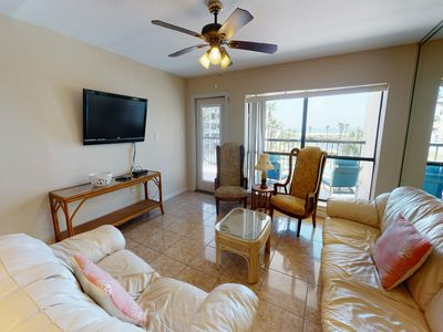 Photo for NEW LISTING! Beachfront condo w/ multiple shared pools, pool spas, & tennis