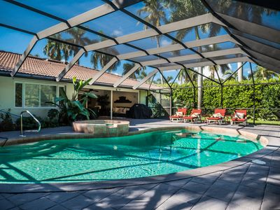 Photo for Outstanding 3BR Beach/Pool Home, Venetian Village, Private Beach Access ! PET OK