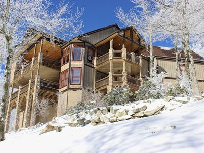Photo for The Scarboro on Sugar Mtn w/Views, 7 BR's, Hot Tub, GameRm