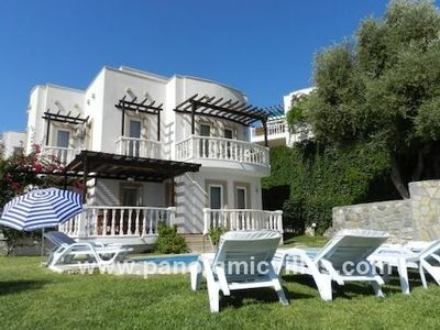 Photo for 4 bedroom Villa, sleeps 9 in Ortakent with Pool, Air Con and WiFi