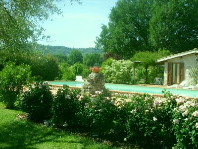 Photo for Casale Eredità Easter in Orte 70 km north Rome Private Pool for 6 people