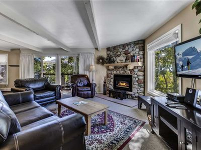 Photo for 2 Bedroom Condo with Beautiful Views, Shuttle Access and Community Hot Tub and Pool