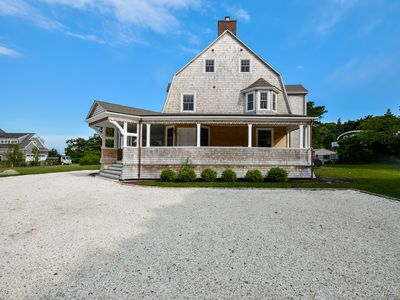 Photo for Private heated pool renovated home in West Falmouth