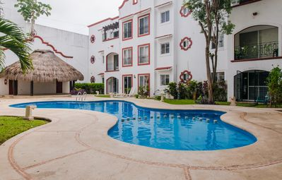 Photo for Best location in Centro playa Del Carmen ten min walk to beach and fifth avenue