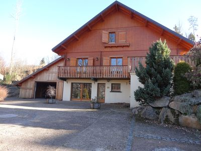 Photo for NEW Gerardmer - Chalet 300m²-14 pers-view Lake-5 min CV / tracks-Sauna Spa