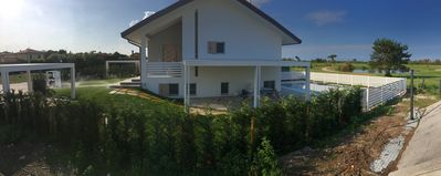 Photo for ALBARELLA - Beautiful house with pool and outdoor