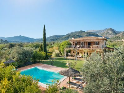 Photo for CAS COLECTOR - Impressive villa with private pool and spectacular views to the mountains around.